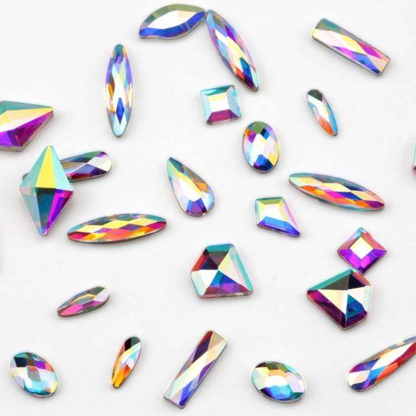 120 darabos formakő készlet csipesszel és viasz ceruzával