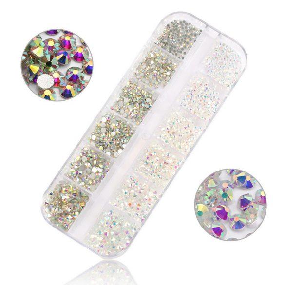 1440 darabos kristály strassz készlet S7