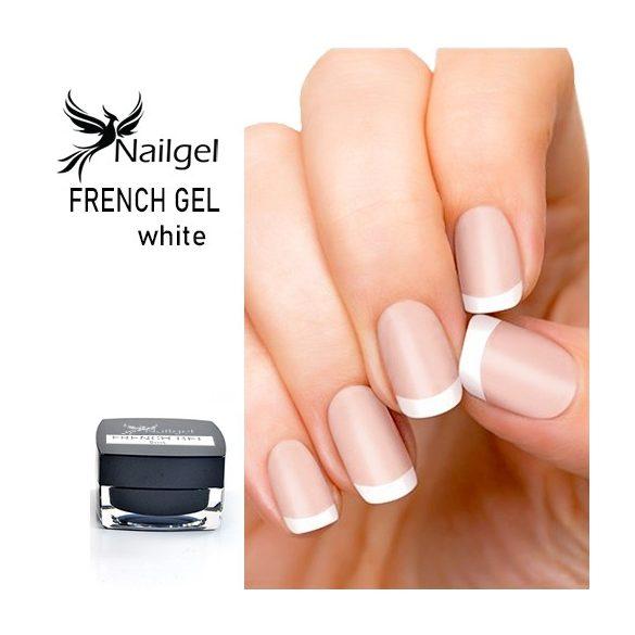 French gel-white