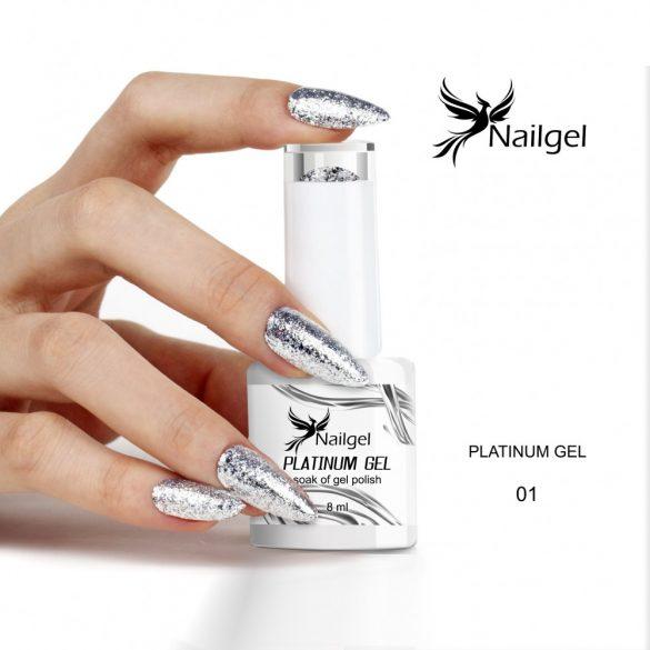 Platinum 001 gél lakk 8 ml