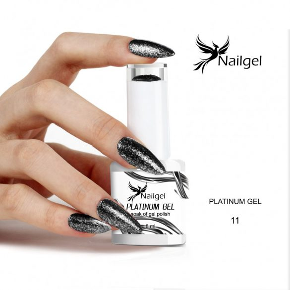 Platinum 011 gél lakk 8 ml
