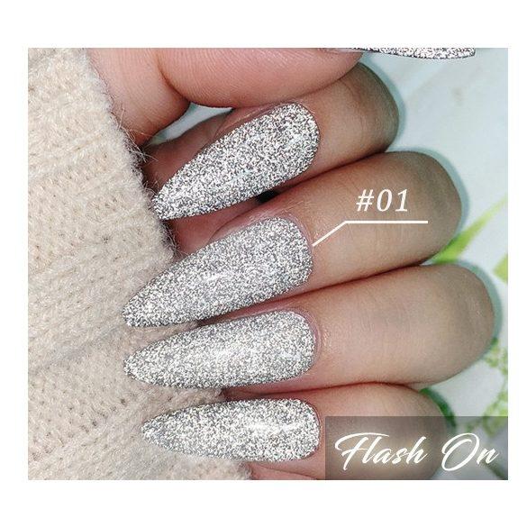 Disco Flash 001 gél lakk 8 ml