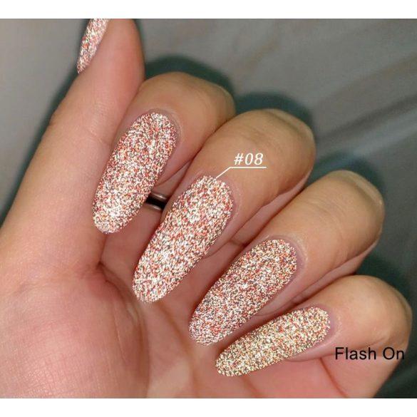 Disco Flash 008 gél lakk 8 ml