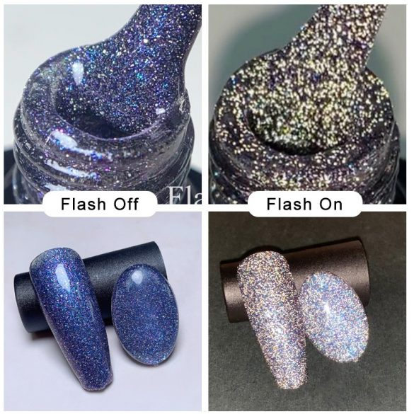 Disco Flash 020 gél lakk 8 ml