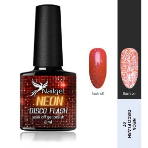 Disco Flash NEON 007 gél lakk 8 ml