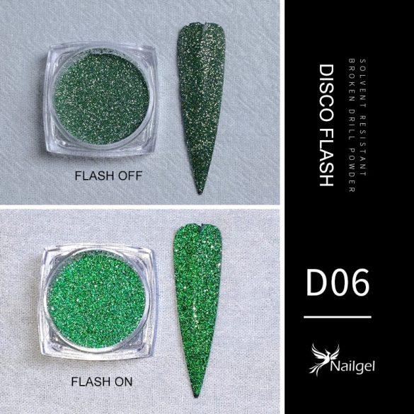 Disco Flash effekt csillámpor D06