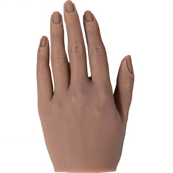 Élethű szilikon gyakorló kéz állványon - bal