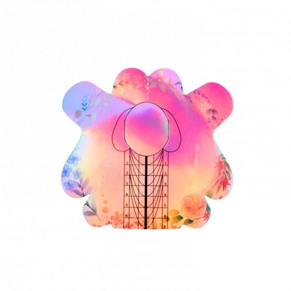 Műköröm sablon -pillangó- 10 db