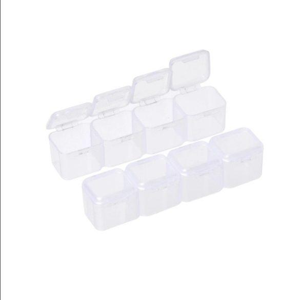 28 rekeszes műanyag tároló doboz