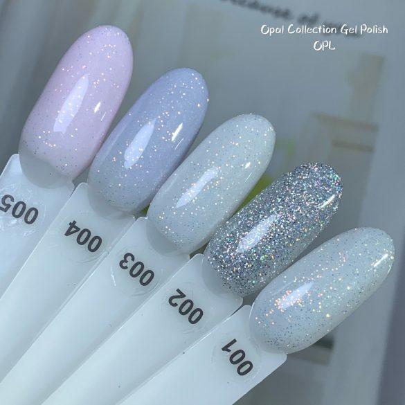 Opal Glitter 002 gél lakk 8 ml