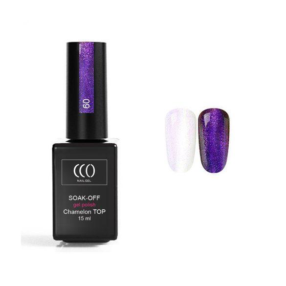 Chameleon 09 fényzselé CCO Top Coat Gél lakk 15 ml