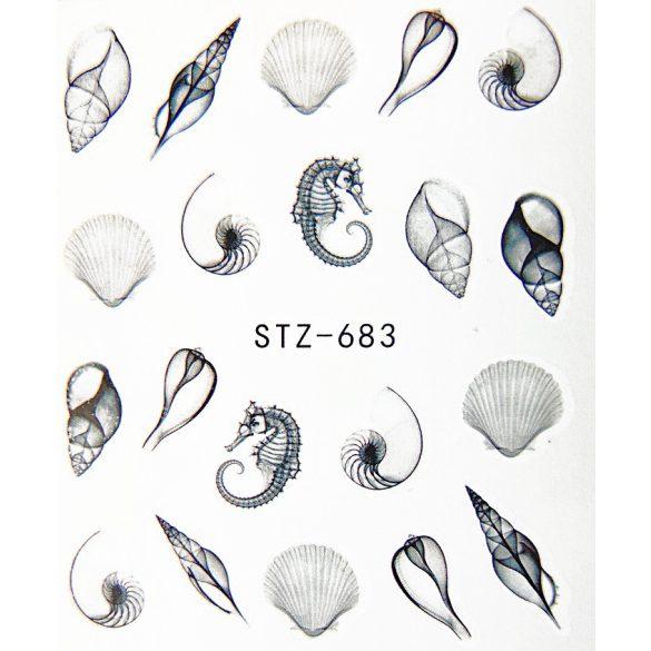 Kagylós köröm matrica 1