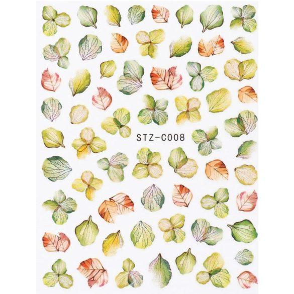 Őszi leveles körömmatrica 5