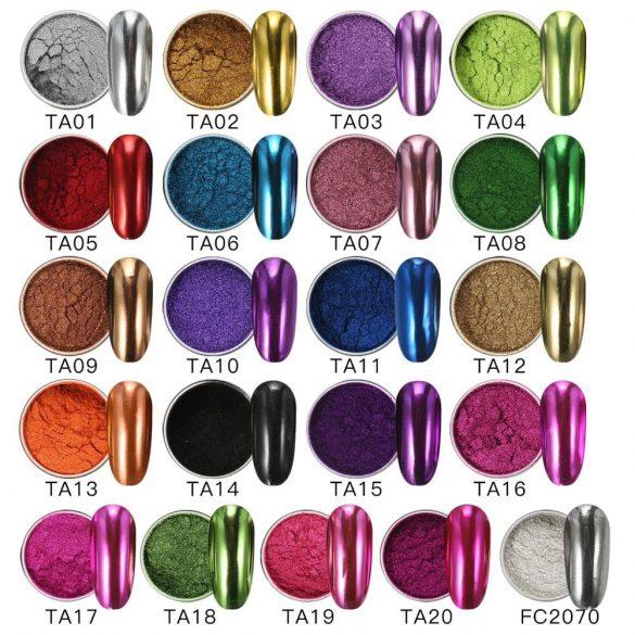 Ezüst, nagy pigmentáltságú krómpor TA01
