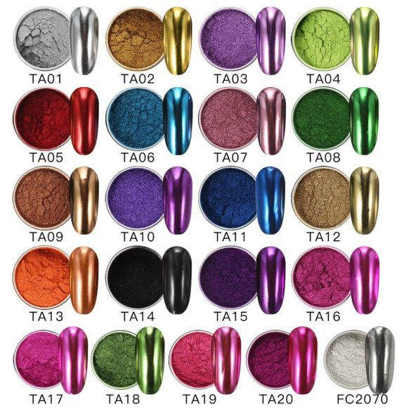 Zöld nagy pigmentáltságú krómpor TA08