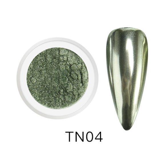 Zöldes-Ezüst, nagy pigmentáltságú krómpor TN04
