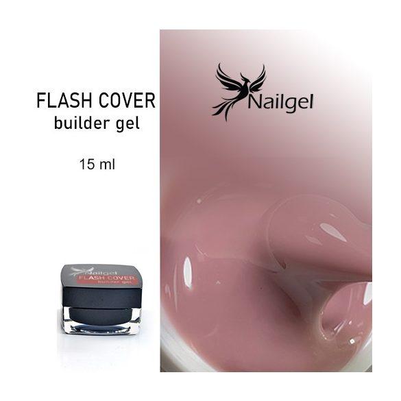 FLASH COVER építőzselé 15 ml