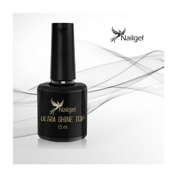 Ultra fényes fényzselé CCO Top Coat Géllakk