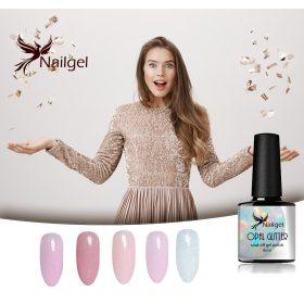 Opal glitter gel lakk